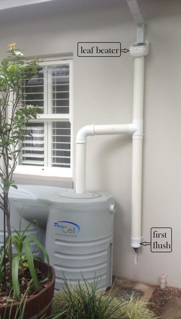 Rainwater Harvesting Equipment Installation Rainwater